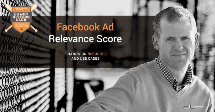 Facebook Ads Relevance Score PHC