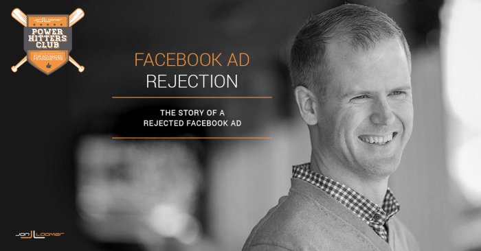 Rejected Facebook Ad
